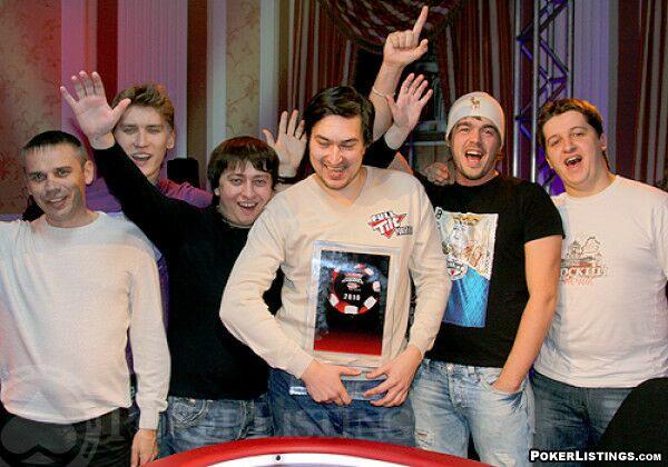 Командное фото после победы в Русской Схватке!